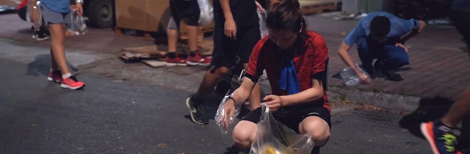 淨街慢跑:邊撿垃圾邊慢跑,救市容、練體力就是這麼簡單!
