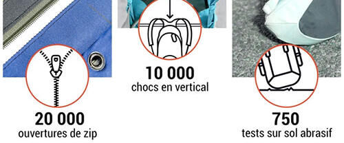 Behind the scenes of the 10 year guarantee - Quechua backpacks  Discover behind the scenes of the 10 year Quechua guarantee for backpacks