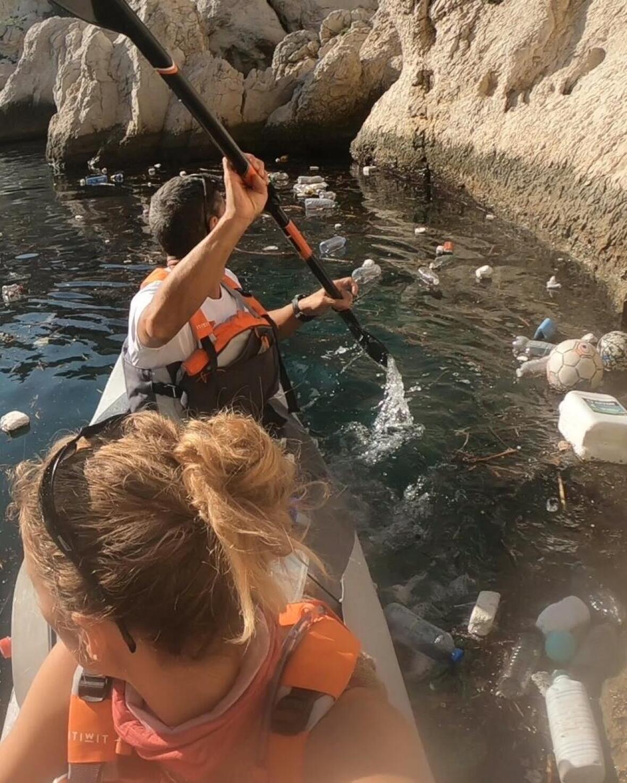 kayak pollution en France