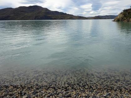 trek en patagonie lac el chileno parc torres del paine au chili