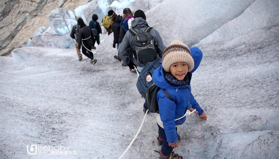 挪威冰川親子健行