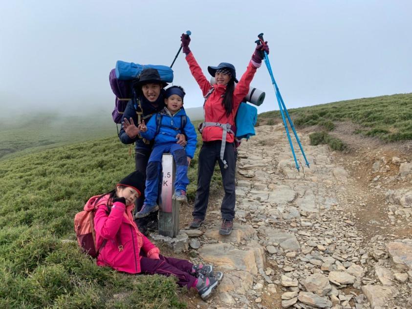 親子合歡北峰初體驗親