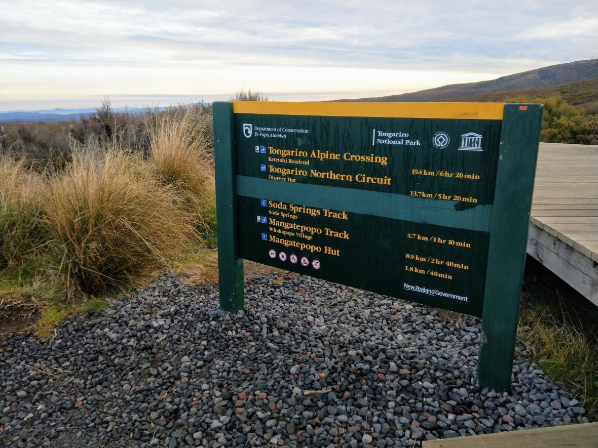一日冒險,紐西蘭魔戒末日火山健行