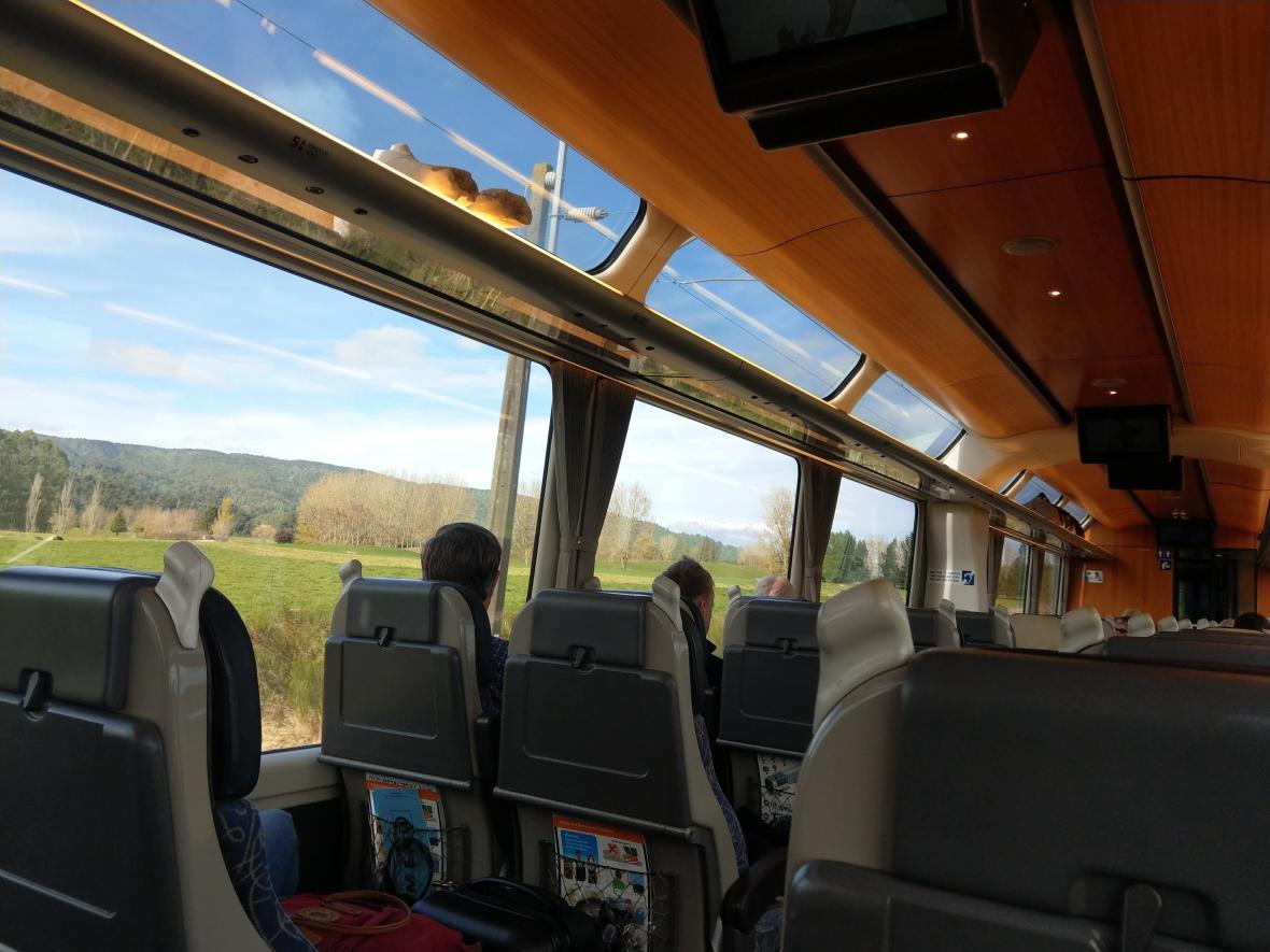 紐西蘭觀光列車