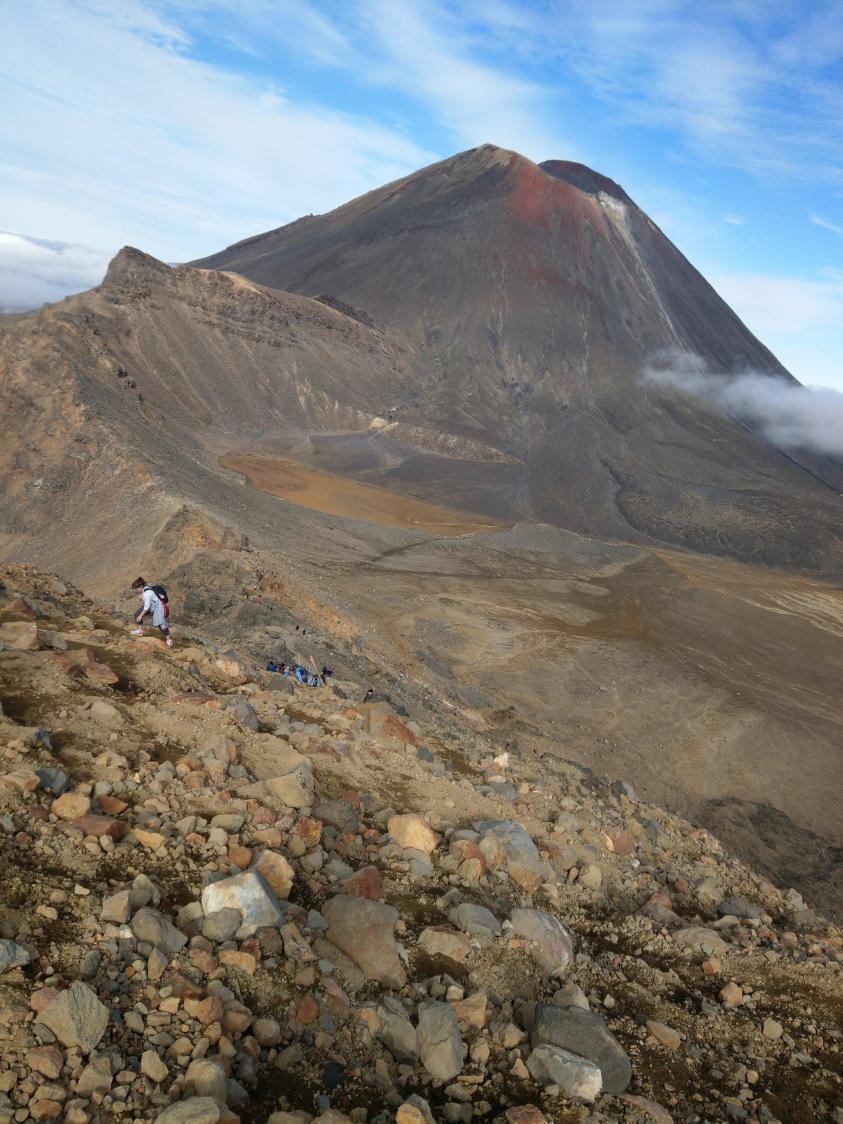 紐西蘭魔戒末日火山健行紐
