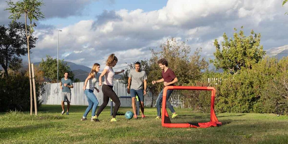 NG500S Inflatable Football Goal