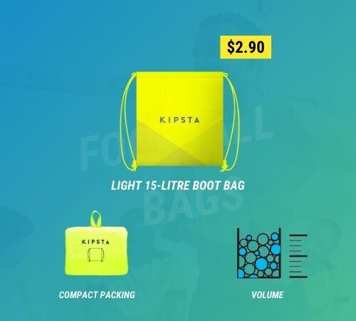 Light 15-litre boot bag