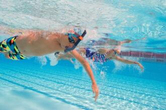 The importance of breathing properly while swimming