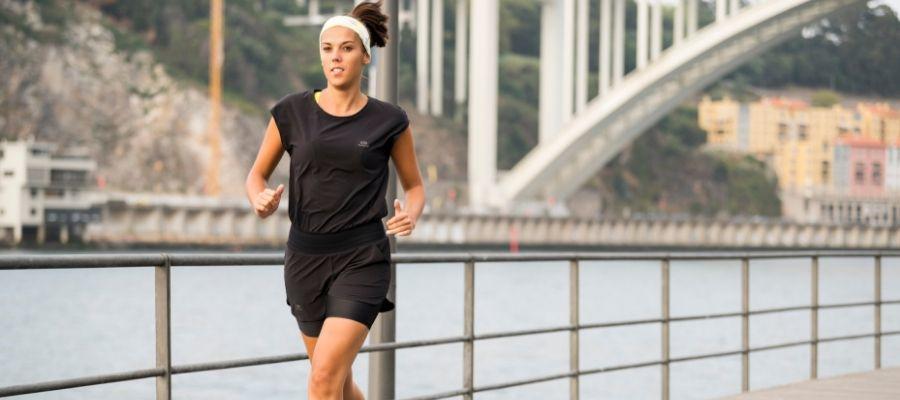 RUN DRY+ WOMEN'S RUNNING ROMPER
