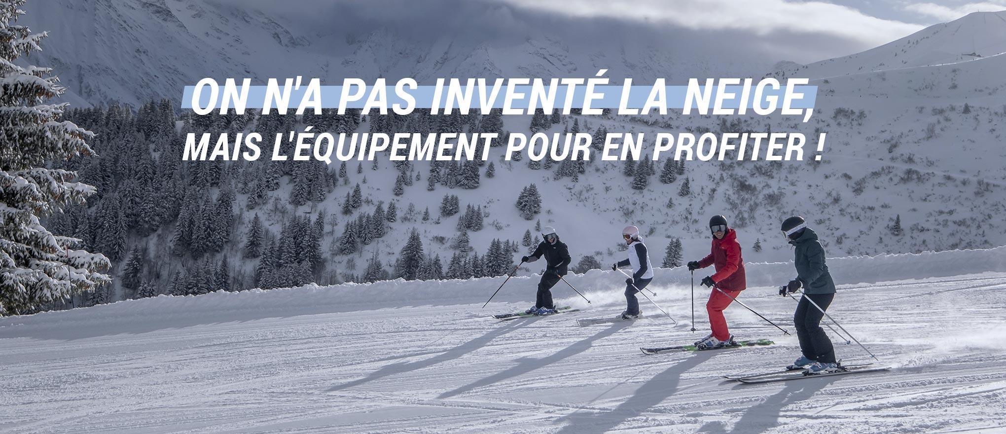 départ en vacances au ski