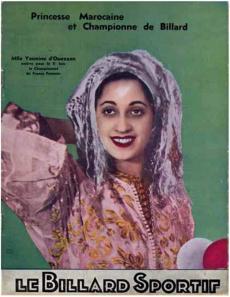 Couverture du magazine « Le billard sportif » de l'année 1934