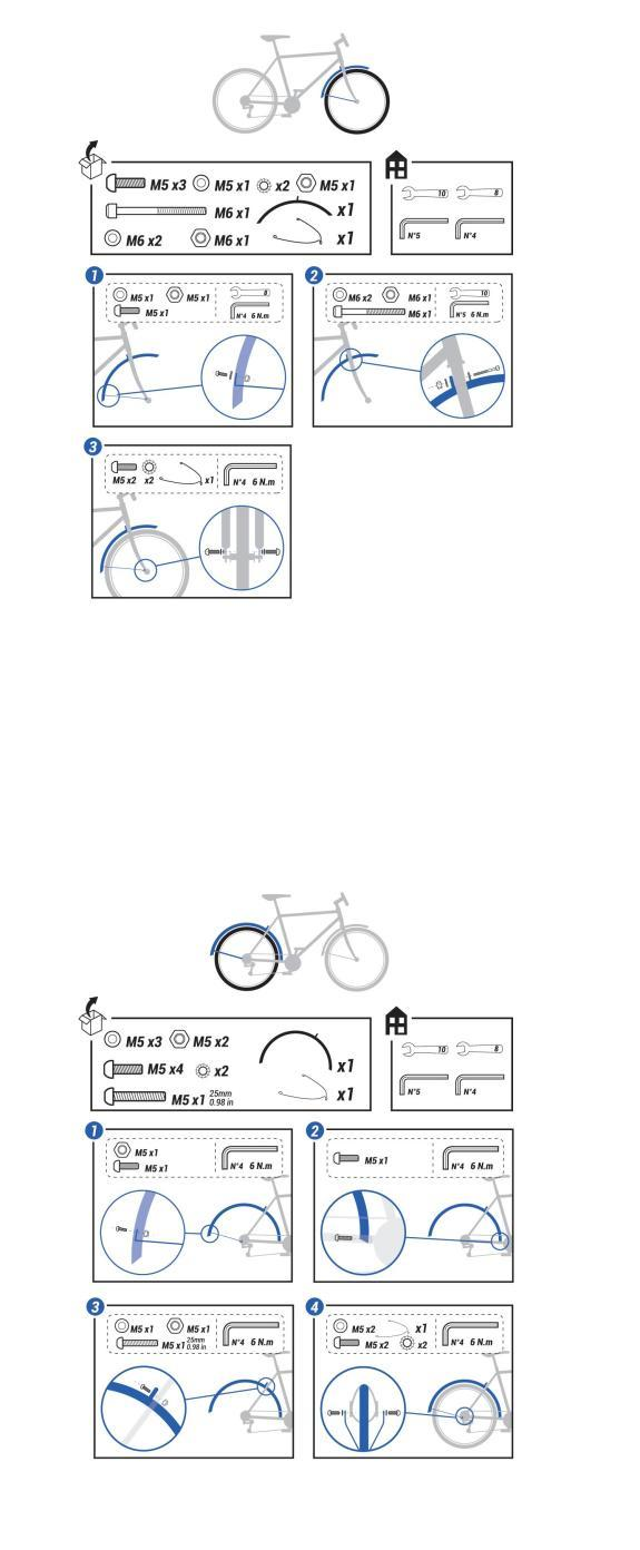 como-montar-os-guarda-lamas-bicicleta-de-trekking