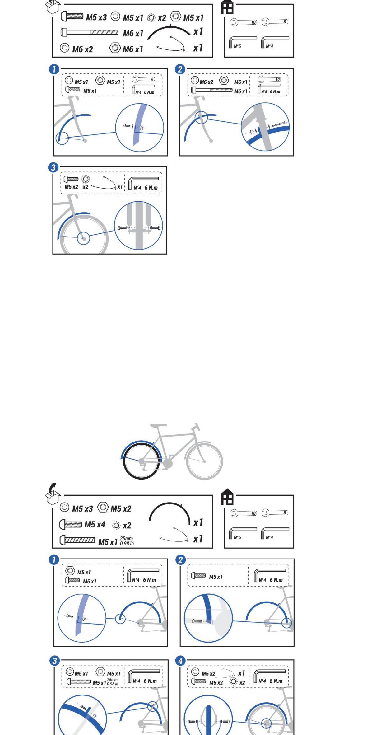 how-to-fit-mudguards-hybrid-bike