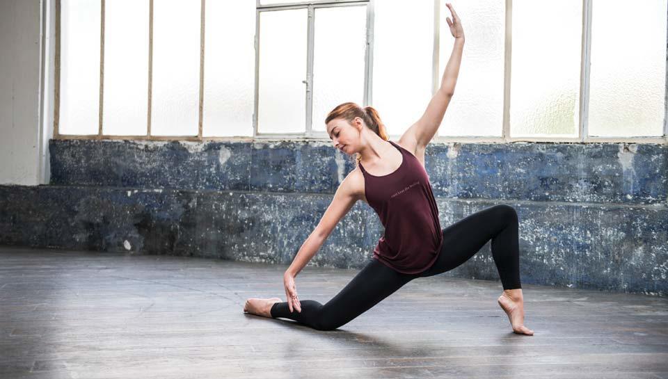 Tenue danse moderne femme, legging danse, débardeur danse modern'jazz, Tenue danse contemporaine femme