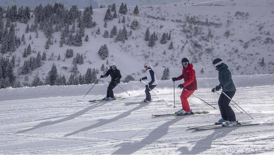 Départ aux sports d'hiver