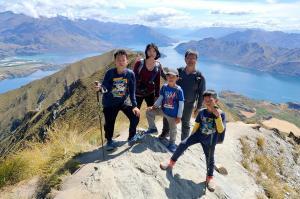 紐西蘭登山健行