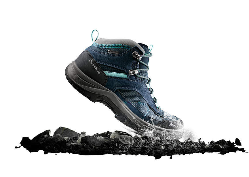 Chaussures MH100 MID Femme Waterproof