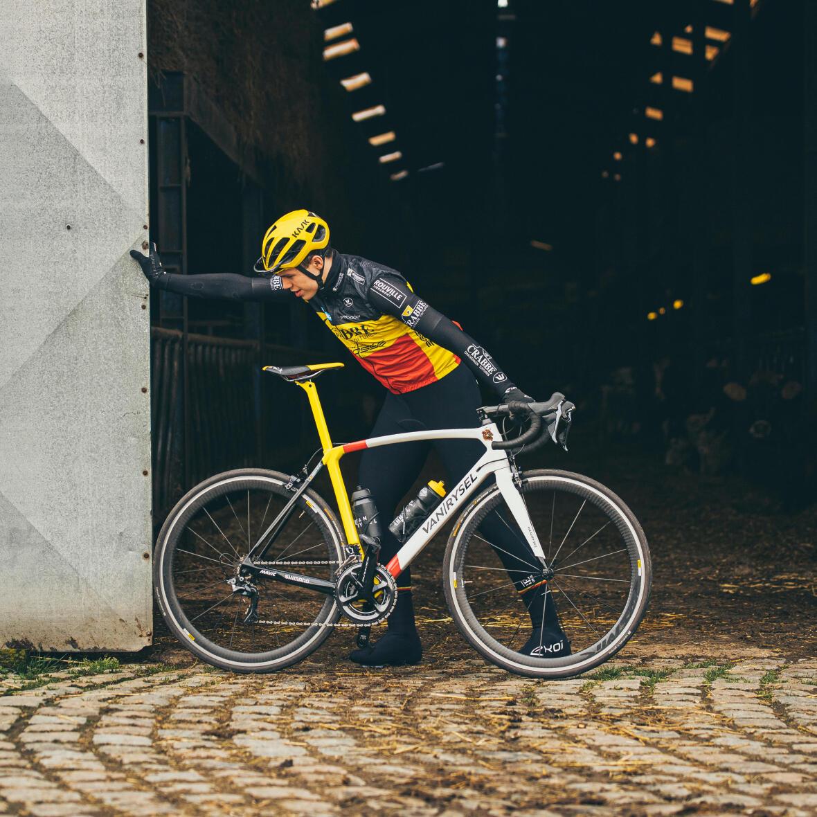 vélo de route Decathlon Van Rysel