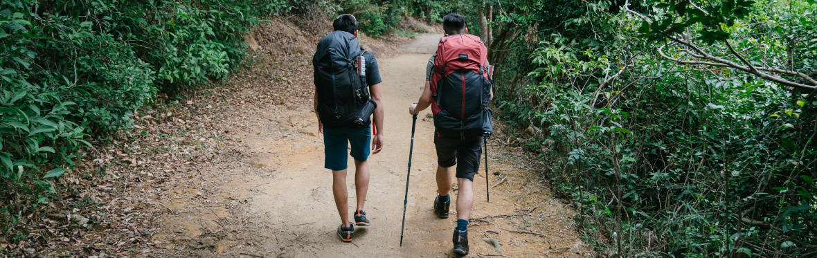 LEAVE NO TRACE HIKING