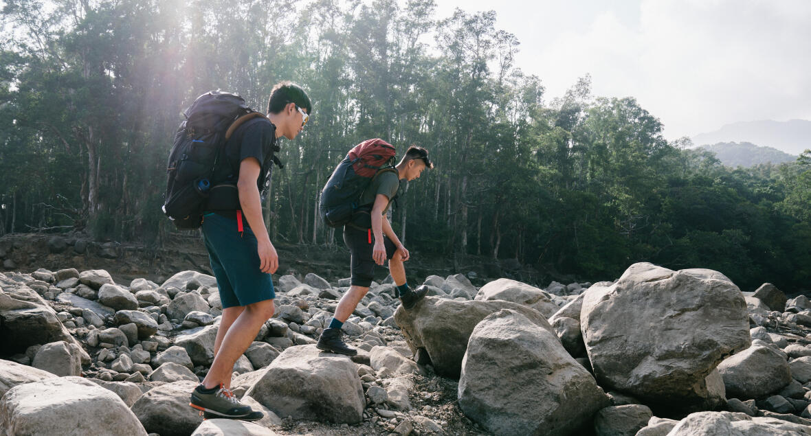 Leave no trace hiking -Decathlon