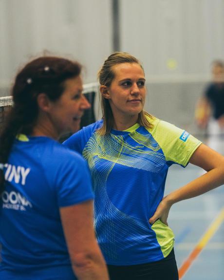 Femmes : badminton