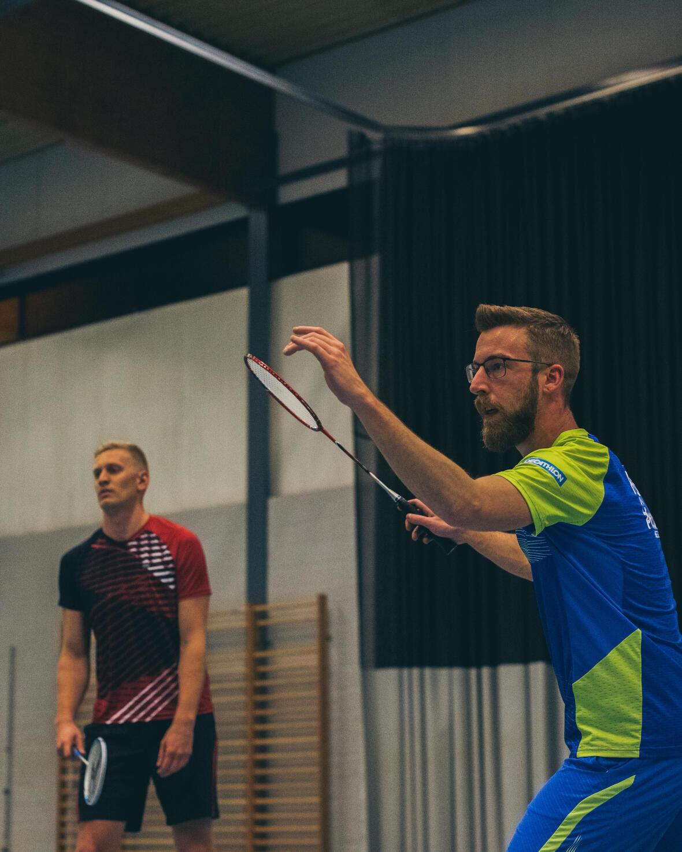 Tom - Robin : badminton