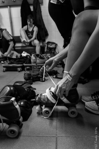 équipement du roller derby