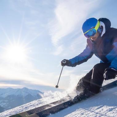 Skihelm auswählen - Titel