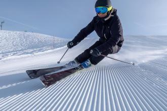 waxing sharpening ski teaser