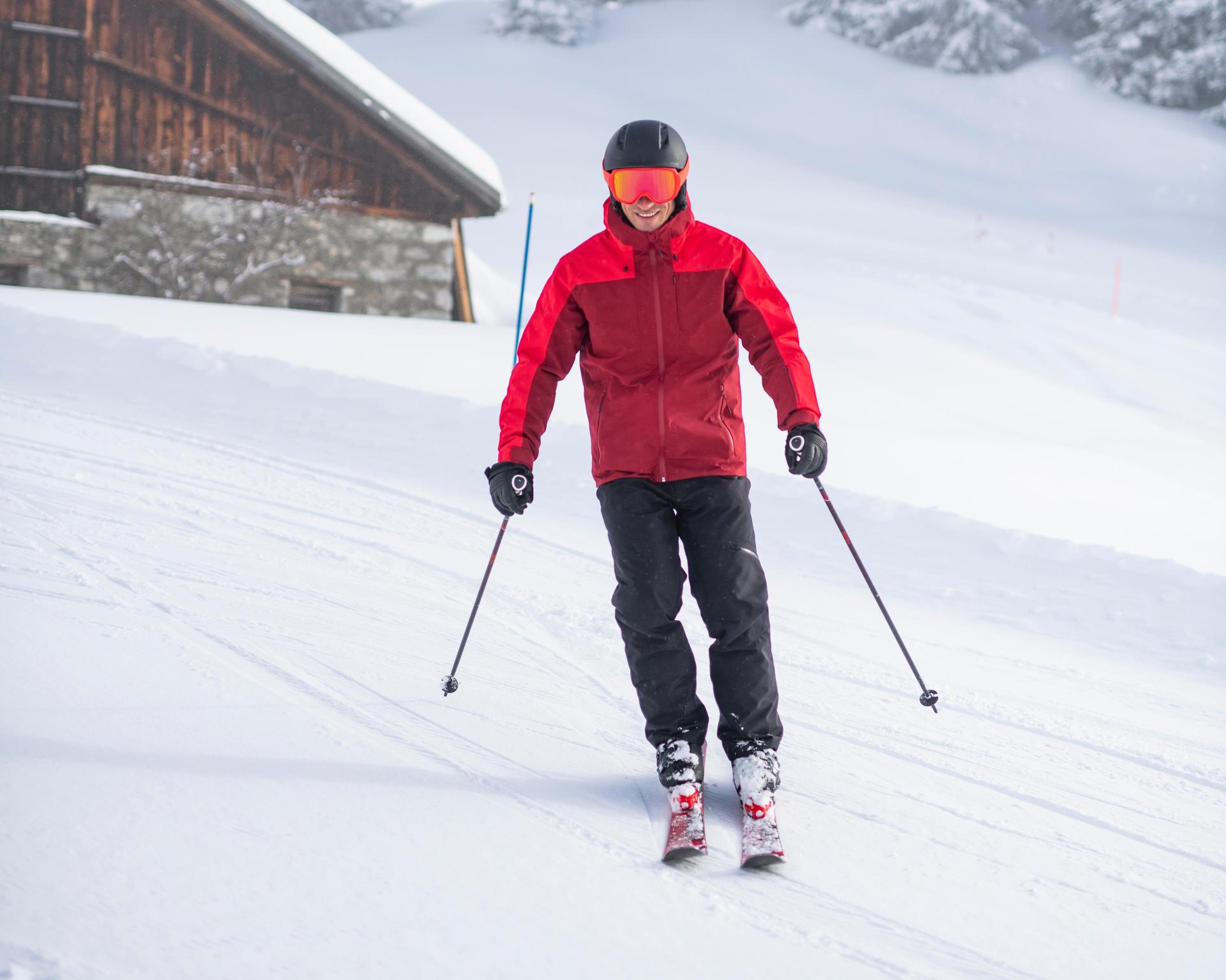 schema ski derapage
