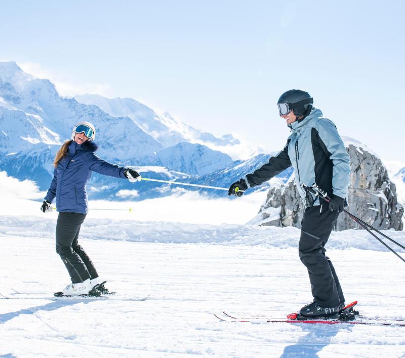Bien préparer sa valise pour le ski -titre