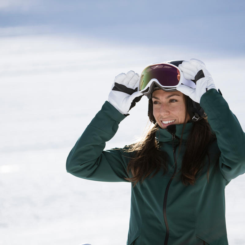 How to pair goggles and ski helmets