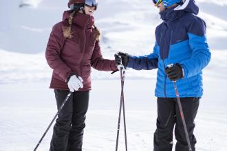 Ne pas avoir froid aux pieds et aux mains au ski grâce à wed'ze