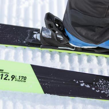 Wie stellt man die Bindungen der Ski richtig ein?