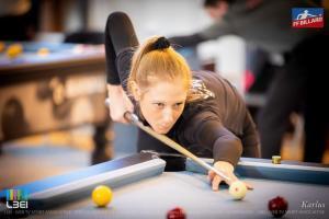 Emilie Fesquet blackball Billard au féminin