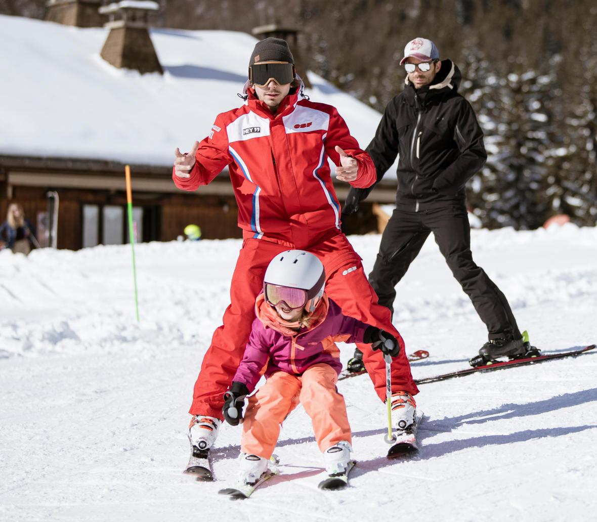 partir au ski avec un enfant