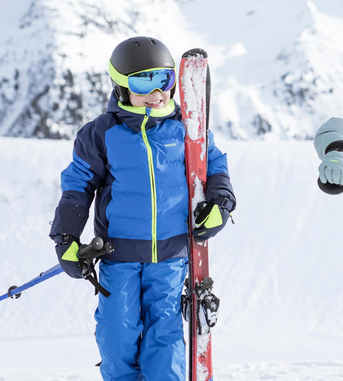 comment porter des skis