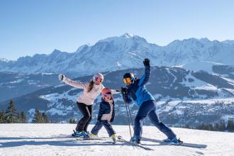 vacances au ski avec les petits teaser