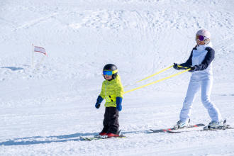 learn to ski progressively and  safely with skiwiz