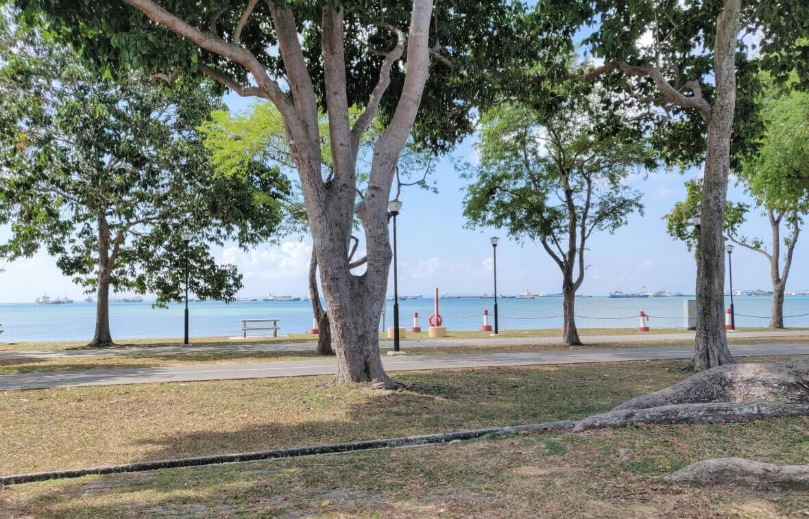 Scenic Cycling Routes in Singapore Part 1: East Coast Park