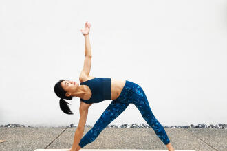瑜珈與環保 Aster