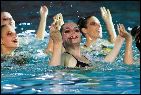 camille adam natation synchro