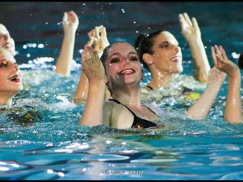 Camille Adam synchro swimming