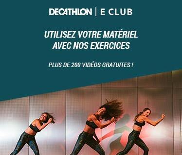 cours en ligne barre au sol, danse classique, danse fitness, decathlon