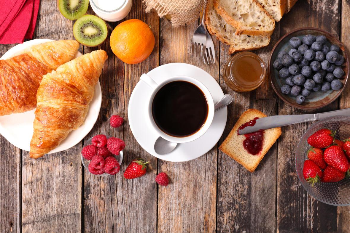 Le matin, on peut manger ce qu'on veut