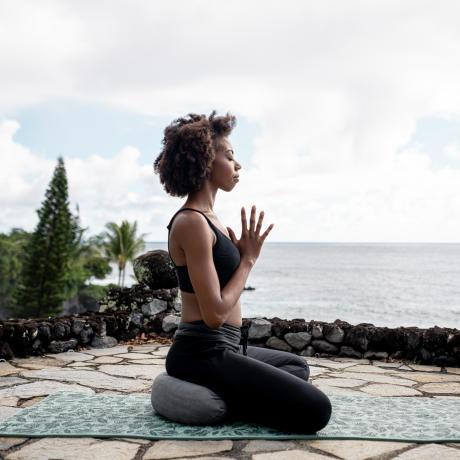 yoga en vacances