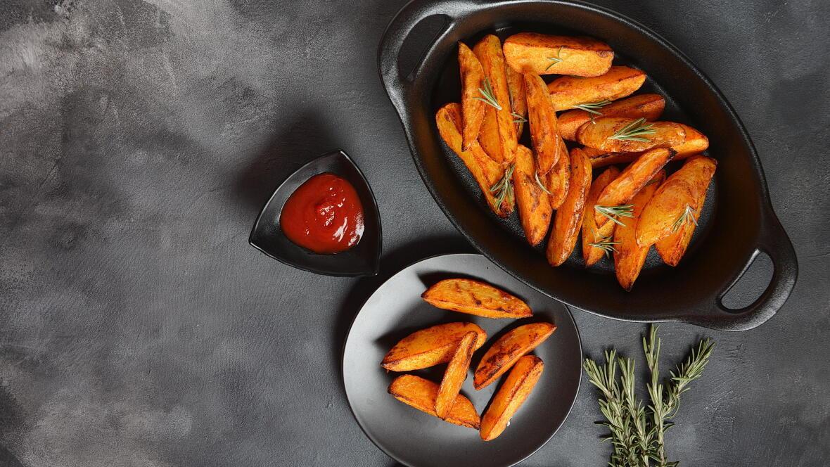 Potatoes de patates douces: une idée d'accompagnement healthy !