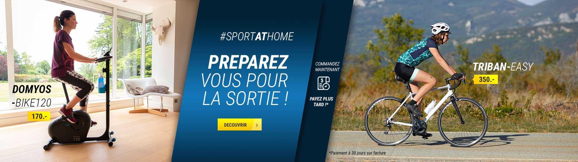 S'entraîner au vélo à la maison