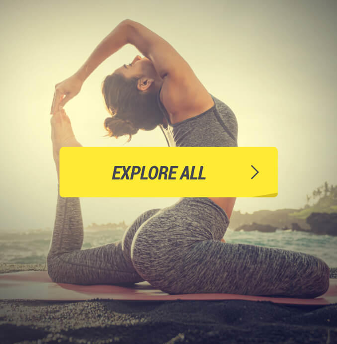 Decathlon Fitness Category Yoga Collage CTA