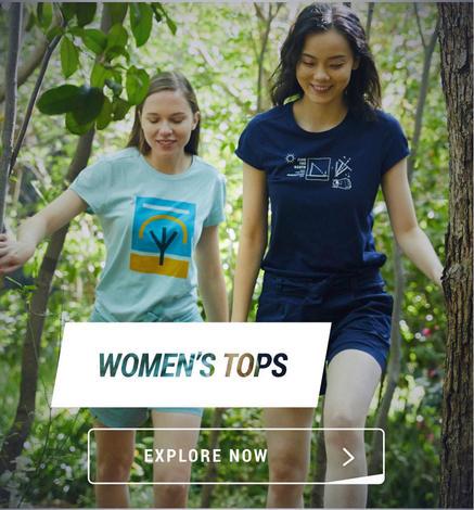 Decathlon Women tops, Women Top Wears